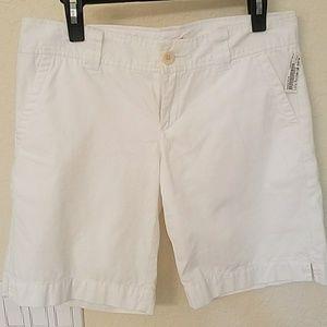 Lilly Pulitzer White Bermuda shorts