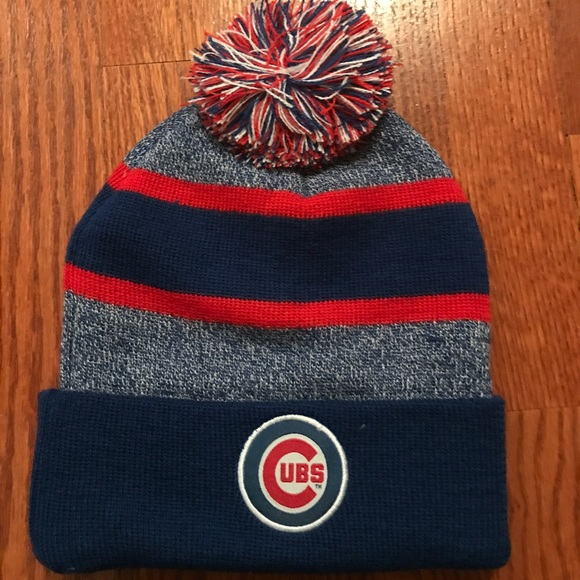 6287ee6336a Accessories - Chicago Cubs winter hat with pompom