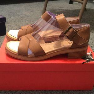 BC Footwear leather women sandal