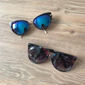 2 sunglasses, excellent condition