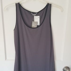H&M Tank/Cami - Grey and Black