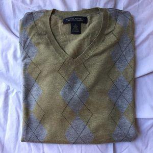 Banana Republic Argyle Sweater- Men's Small