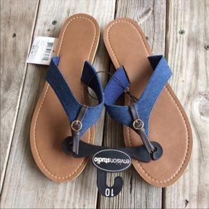 NEW Denim Look Sandals