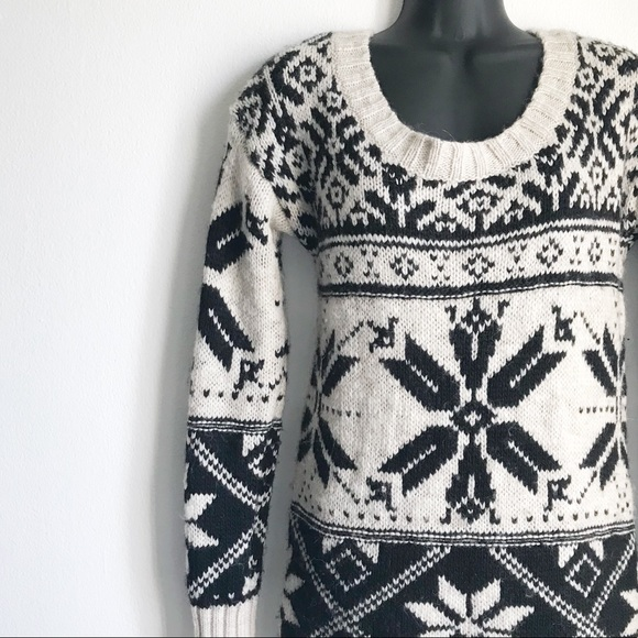 43% off American Eagle Outfitters Sweaters - AEO Fair Isle Chunky ...