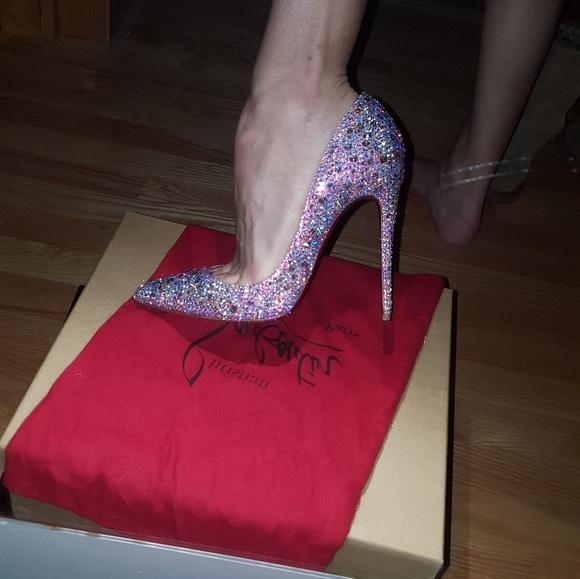 b5ffa9a31670b9 Christian Louboutin Shoes - Christian Louboutin so kate swarovski heels