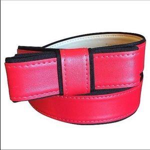 ♠️Fairy Tale Red Kate Spade Belt ♠️