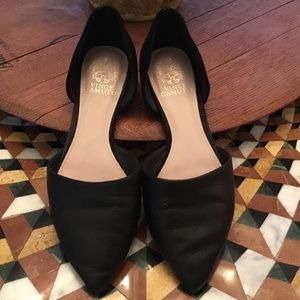 Designer Vince Camino Dorsey style leather flats