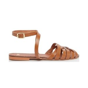 asos • woven leather sandals