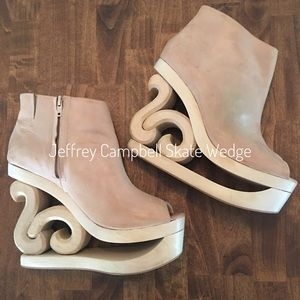 Jeffrey Campbell Skate Wedge Shoe