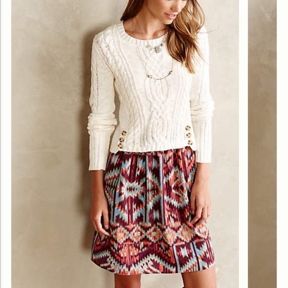 712d2ac1c95 Anthropologie Dresses   Skirts - Anthropologie Lilka Duxbury Dress Sweater  Twofer
