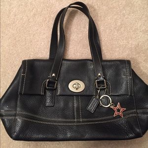 Authentic Coach black bag with Star Charm