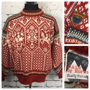 Other - Dale of Norway Red Lillehammer Olympic Sweater