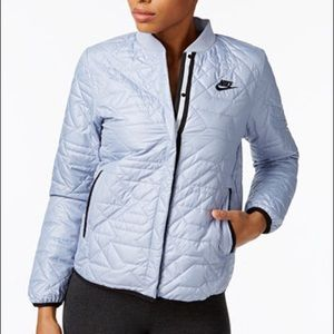 New Nike Sportswear Quilted Jacket Glacier Grey L