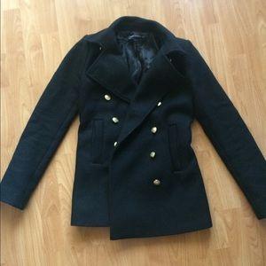 Zara Woman Black Coat