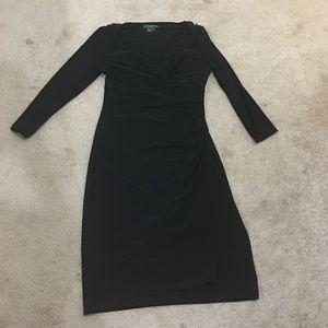 Beautiful Ralph Lauren stretch wrap dress.