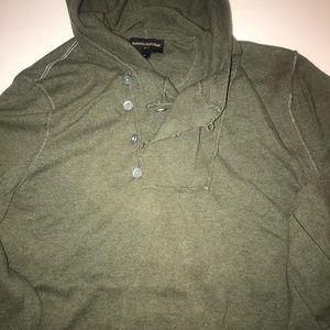 Men's banana republic hoodie sweater size small