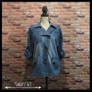 Chico's Stylish Denim Jacket