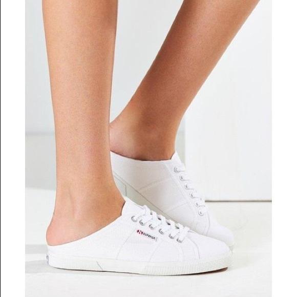 Superga Shoes | Superga Slip On Mules