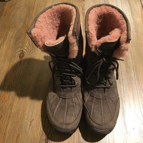 "3738ee928b4 Ugg Snow Furlined ""event"" Waterproof Vibram Boots"