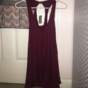 Red dress keyhole in back v cut front