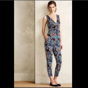 Puella Paisley Jumpsuit from Anthropologie