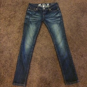 Refuge high fade skinny jeans