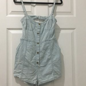 Denim romper EUC