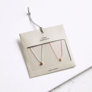 UO Icon Friendship Necklace Pendant Set