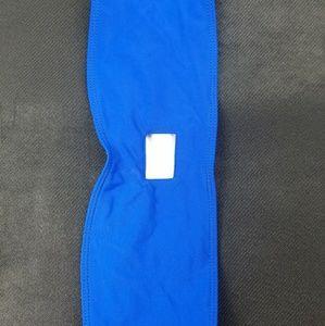 Blue Coulbourne bandeau top
