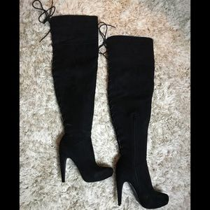 JustFab Over-the-Knee Boots