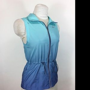 Nike ombré vest- technical and beautiful.