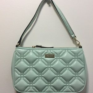 KATE SPADE - Linet Astor Court faded mint purse