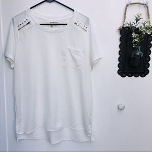 B.P. Collection {Nordstrom} Studded White T-Shirt