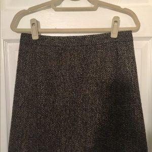 LOFT fall skirt