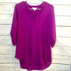 Decree Vivid Purple Blouse
