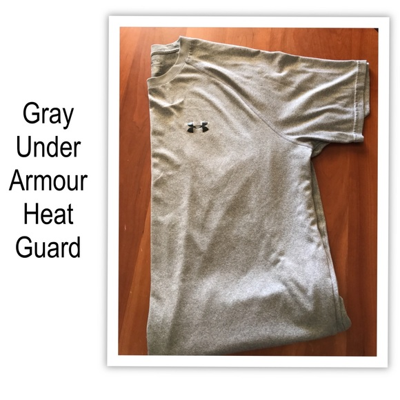 Shirts mens under armor tee with heat gear poshmark for Under armor heat gear t shirt
