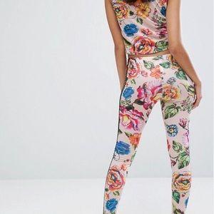e9ef8b2d990 adidas Other | Bnwt Floralita Crop Top Leggings Set | Poshmark