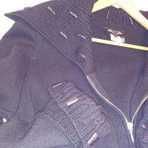 Angel Apparel wool blend knit jackets