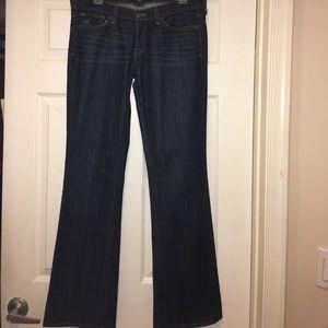 Lucky Brand Dark Wash Boot Cut Jeans