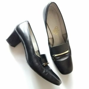 Vintage Selby pumps heels shoes size 9 AA narrow