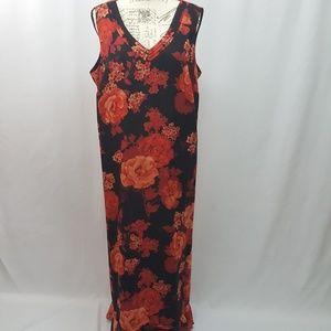 Vintage Plus Size Sleeveless Dress 2X
