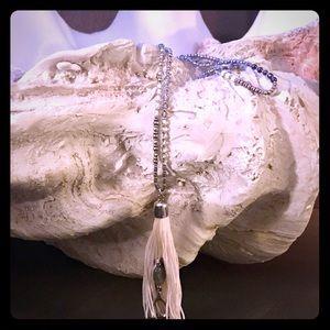 Express tassel Necklace