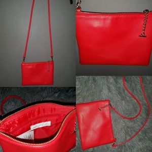 Red h&m bag