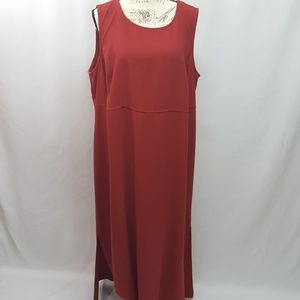 Vintage Plus Size Sleeveless Dress 20