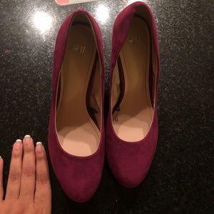 H&M purple shoes