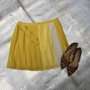 New Joie Isolde Curry Vintage Skirt