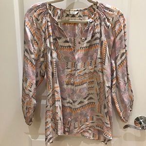 Tucker blouse size small worn a few times