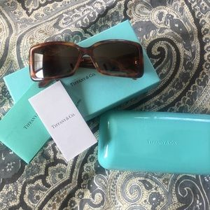 Tiffany and Co. Sunglasses, sterling silver sides