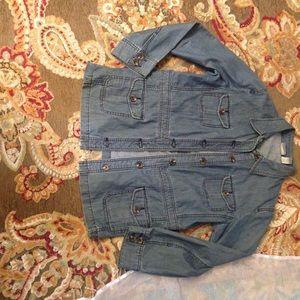 Chico's jacket size 2.