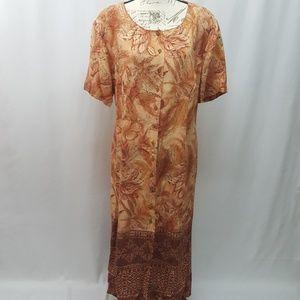 Vintage Plus Size Dress Size 18